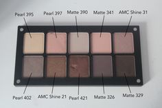 inglot eyeshadow swatches - Buscar con Google