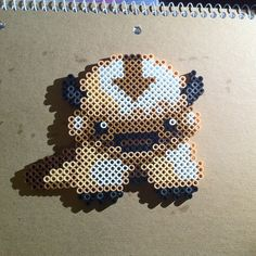 TLA Appa - Avatar perler beads by deranged.hyena