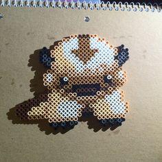 TLA Appa - Avatar perler beads by deranged.hyena