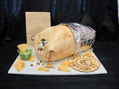 chipotle burrito cake - Google Search
