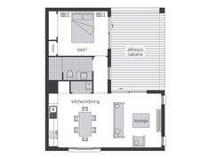 Granny Flat Designs and Studio Suites Garage Apartment Plans, Garage Apartments, Mcdonald Jones Homes, Studio Apartment Layout, Storey Homes, Granny Flat, Shipping Container Homes, Small House Design, Small House Plans
