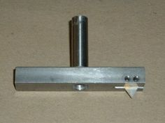 Fly Cutter - Homemade fly cutter machined from cold rolled steel and drill rod. Utilizes TPG322 carbide inserts.