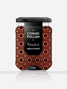 Cosmopollen Urban Honey by Louise Twizell, via Behance