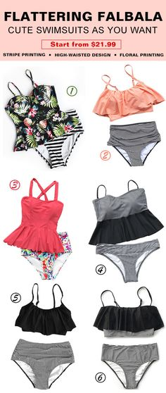 Treat Yourself to Something Special. Let's get some packing for beach trips with flattering style design swimsuits! You will want to pull it out of your closet to next beach trip. Take it with best friends! Shop Now.