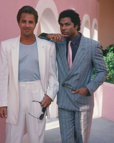 Miami Vice inspired an entire generation of men to start dressing in pinstripe, pastel, and all-white. While embarrassing, it's impossible to deny it: These guys definitely looked cool at the time.