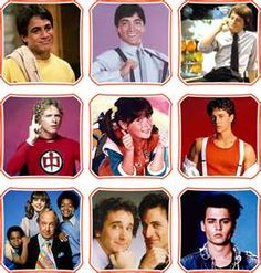 Who's the boss, Charles in charge, Punky Brewster, Different Strokes, Family Ties, Greatest American Hero, Perfect Strangers, Growing Pains& 21 Jump Street.