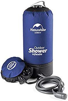 ddb300ecdb9dd4 Poche de stockage d eau NatureHike portable et gonflable de 11L pour douche  avec embout