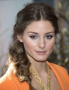 Make up Olivia Palermo Olivia Palermo Makeup, Olivia Palermo Style, Pretty Hairstyles, Braided Hairstyles, Wedding Hairstyles, Updo Hairstyle, Wedding Updo, Hair Day, My Hair
