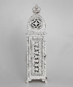 Take a look at this Large Pierced Metal Lantern  by Blow-Out on #zulily today!