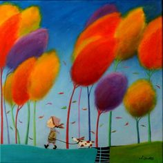 View Iwona Lifsches's Artwork on Saatchi Art. Find art for sale at great prices from artists including Paintings, Photography, Sculpture, and Prints by Top Emerging Artists like Iwona Lifsches. Art Lessons, Modern Art, Naive Art, Painting, Whimsical Art, Illustration Art, Art, Saatchi Art, Beautiful Art