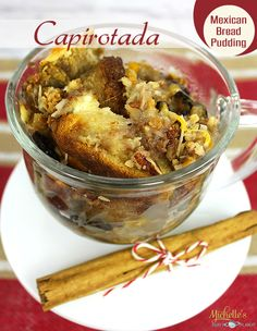 Capirotada Mexican Bread Pudding Recipe by Michelle's Party Plan-It #ChooseSmart #ad