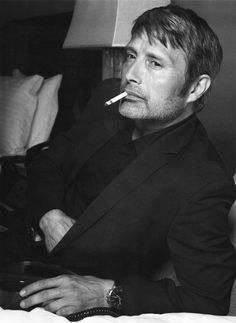 Ok mads, if you should read this, know that I am not a fan of your smoking:). You are so beautiful though