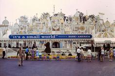 Disneyland: It's A Small World - Summer, 1967