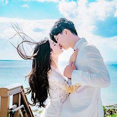 자동 대체 텍스트를 사용할 수 없습니다. Korean Wedding Photography, Couple Photography, Ulzzang Couple, Ulzzang Girl, Romantic Couples, Wedding Couples, Wedding Kiss, Pre Wedding Photoshoot, Korean Couple Photoshoot