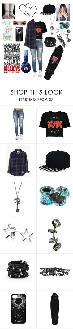 """🤘~killjoys make some noise~🤘"" by skatergurl58 ❤ liked on Polyvore featuring Boohoo, Madewell, Hot Topic, Bling Jewelry, Repossi, Chico's and Beats by Dr. Dre"