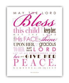 Read baby dedication bible verses httpbibleowing jesus baptism gift first communion gift print frame your own personalized scripture pick colors numbers 6 priestly blessing diy thecheapjerseys Choice Image
