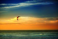Kitesurf @ Guincho paradise - Portugal #kitesurfingportugal #kitesurfing