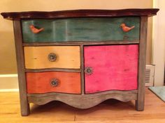 Cool Buffet Makeover By Chris Reed - Featured On Furniture Flippin'