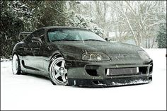 Rule No. 1 : Never drive a Supra in the snow.