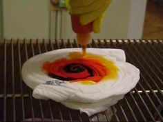 A How To talk-thru on the folding, spinning and dye application for the Reverse Spider style of tie-dyed (tie dye) shirts/flags. A quick guide for all levels of experience...