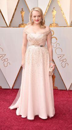 Elizabeth Moss at the Academy Awards Bridesmaid Dresses, Prom Dresses, Formal Dresses, Wedding Dresses, Elizabeth Moss, Academy Awards, Red Carpets, Oscars, Dior