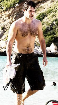 henry cavill - wish he'd walk out of the water at my beach...