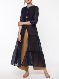 Check out what I found on the LimeRoad Shopping App! You'll love the blue chanderi tiered kurta. See it here http://www.limeroad.com/products/14073856?utm_source=6c79537446&utm_medium=android