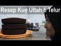 Resep Kue Bolu Ultah 6 Telur, Tiga Jenis Loyang - YouTube