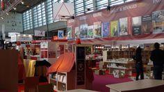 Installation du Salon du livre 2014, Paris, France