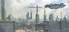 Star Wars - Belleau City Earth by rOEN911 on deviantART