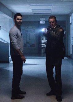 Derek Hale & Sheriff Stilinski