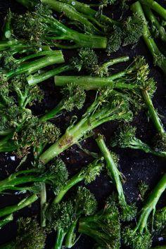 Roasted Broccoli  |  Chez Us