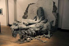 Dragon Themed Items-Wall and floor sculpture - Very cool, but who has that kind of space to give up?