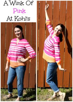 This Spring, Enjoy A Wink Of Pink With Kohl's (sponsored) Fashion!  #MC #Kohls #Fashion #Ambassador