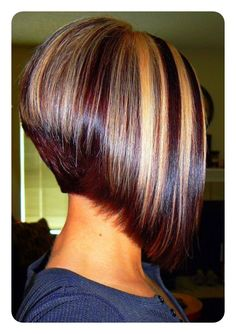80 Popular Inverted Bob Hairstyles For This Season Hairs.london 80 Popular Inverted Bob Hairstyles For This Season HairsLondon inverted bob hair color ideas – Hair Color Ideas Medium Hair Styles, Natural Hair Styles, Short Hair Styles, Bob Hair Color, Inverted Bob Hairstyles, Stacked Hairstyles, Graduated Bob Hairstyles, Pixie Bob Hairstyles, Angled Bob Haircuts