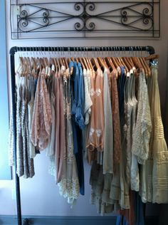 love racks of clothes