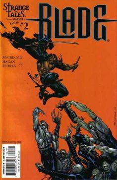 Blade the Vampire Hunter cover