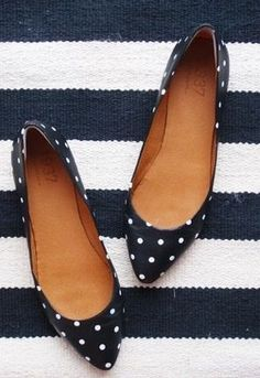 Stitch Fix 2017. Polka dotted ballet flats. #Sponsored #stitchfix