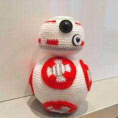 BB-8 (from Star Wars) Pattern by lafreecrochette