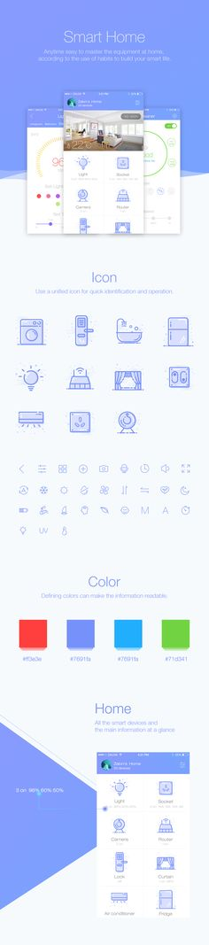 """Check out this @Behance project: """"Smart Home"""" https://www.behance.net/gallery/46500453/Smart-Home"""