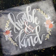 Chalk Letter Tutorial