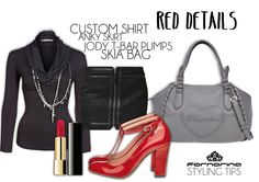 Red details #Fornarina fw 12.13 #style tips