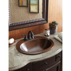 INKOLOGY and Pfister make purchasing a copper sink and high-quality faucet easy and affordable with our exclusive design kits. This sink is handmade with 18-Gauge pure solid copper. Beautiful and bronze, it gives your bathroom a warm and vintage feel with its textured basin and worn-looking faucet. The faucet is WaterSense certified, optimized to use 30% less water.