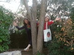La alegria de la Naturaleza, compartida con LLuïsa y Rosó y los diseños de las #Holos. www.holoplace.net/info