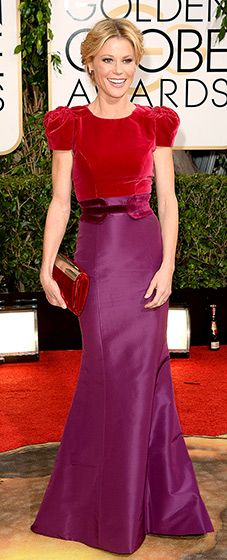 Julie Bowen in Carolina Herrera...big night for the designer, thankfully! Bringing some class to the red carpet.