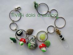 KAWAII - Fashion Jewellery / Smiling Totoro - Studio Ghibli loving bracelet by ~tivibi on deviantART