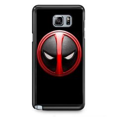 Deadpool Emblem TATUM-3096 Samsung Phonecase Cover Samsung Galaxy Note 2 Note 3 Note 4 Note 5 Note Edge