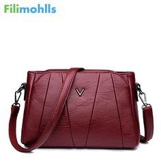 e760867d161 Luxury Women Messenger Bags Designer Woman crossbody bags for women 2018  Brand Leather Shoulder Bags Tote