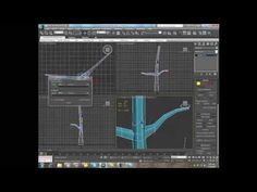 3ds max modelling tree tutorial - YouTube