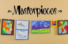 Doing this!!!  Masterpieces Vinyl Lettering decal wall  kids by itswritteninvinyl, $18.00 playroom